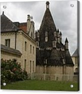 The Kitchenbuilding - Abbey Fontevraud Acrylic Print