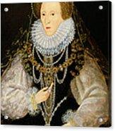 The Kitchener Portrait Of Queen Acrylic Print