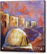 The Horno At Acoma Acrylic Print