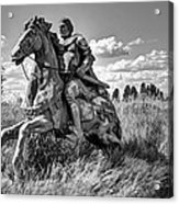 The Knight Goes Forth Acrylic Print by Daniel Hagerman