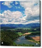 The Kootenai River Acrylic Print