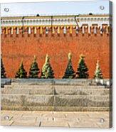 The Kremlin Wall Acrylic Print