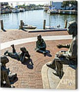 The Kunta Kinte-alex Haley Memorial In Annapolis Acrylic Print