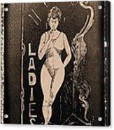 The Ladies Acrylic Print