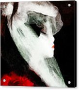 The Lady Is Not For Turning  Acrylic Print