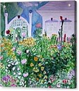 The Laine Garden Acrylic Print
