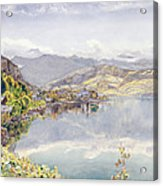 The Lake Of Lucerne, Mount Pilatus Acrylic Print