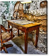 The Lamp And The Chair Acrylic Print
