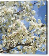 The Language Of Spring Acrylic Print