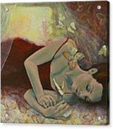 The Last Dream Before Dawn Acrylic Print by Dorina  Costras