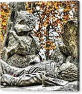The Last Full Measure - Gettysburg National Military Park Autumn Acrylic Print