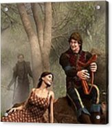 The Last Song Of Tristan Acrylic Print by Daniel Eskridge