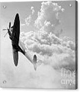 The Last Spitfire Acrylic Print