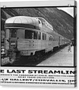 The Last Streamliner Poster Acrylic Print
