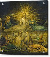 The Last Supper Acrylic Print by William Blake