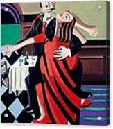 The Last Tango Acrylic Print