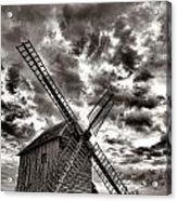 The Last Windmill Acrylic Print