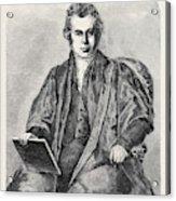 The Late Venerable Archdeacon John Williams Acrylic Print