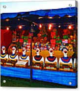 The Laughing Clowns  Acrylic Print