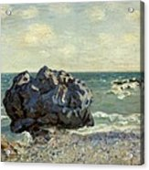 The Laugland Bay Acrylic Print by Alfred Sisley