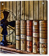 The Lawyers Desk Acrylic Print