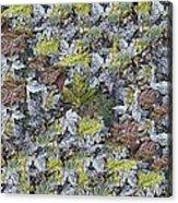 The Leaf Pile Acrylic Print