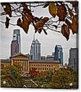 The Leaves Of Philly Acrylic Print