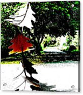 The Leaves Will Soon Start To Fall  Acrylic Print