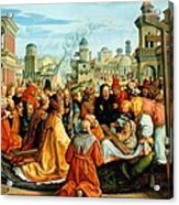 The Legend Of The Holy Cross Acrylic Print
