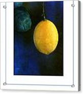 The Lemon Poster Acrylic Print