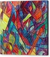 The Letter Alef 3 Acrylic Print