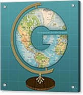 The Letter G Acrylic Print