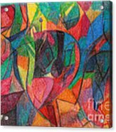The Letter Yud Acrylic Print