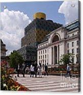 The Library Of Birmingham Acrylic Print