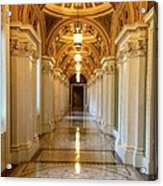 The Library Of Congress Jefferson Building Acrylic Print