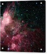 The Life And Death Of Stars Acrylic Print