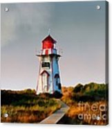 The Light At Covehead Harbour Acrylic Print
