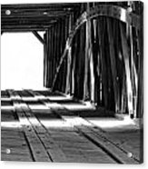The Light At The End Of The Bridge Acrylic Print