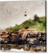 The Light Will Guide You Acrylic Print