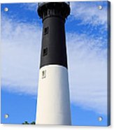 The Lighthouse At Hunting Island State Park In South Carolina Acrylic Print