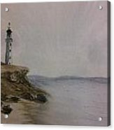 The Lighthouse Sentry Acrylic Print