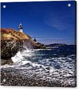 The Ligthouse At West Quoddy Acrylic Print