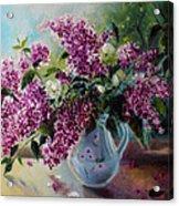 The Lilac On The Window Acrylic Print