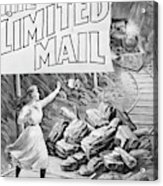The Limited Mail, 1899 Acrylic Print