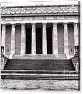 The Lincoln Memorial Acrylic Print