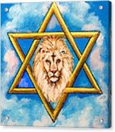 The Lion Of Judah #5 Acrylic Print