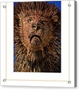 The Lion Poster Acrylic Print