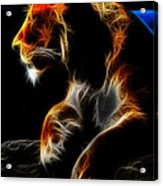 The Lioness Alt Acrylic Print