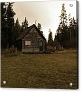 The Little Cabin In The Woods Acrylic Print