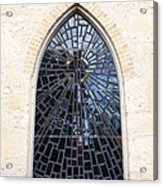 The Little Church Window Acrylic Print